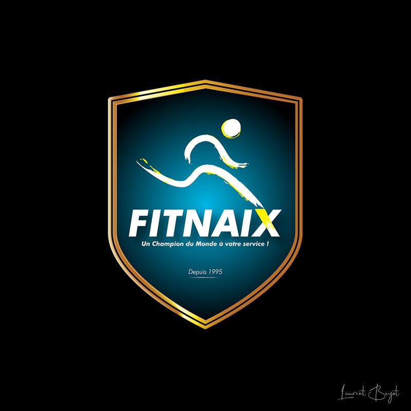 logo sport bleu jaune or