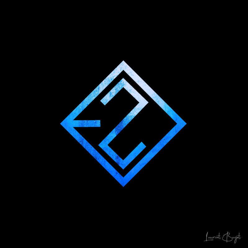 logo bleu noir deux
